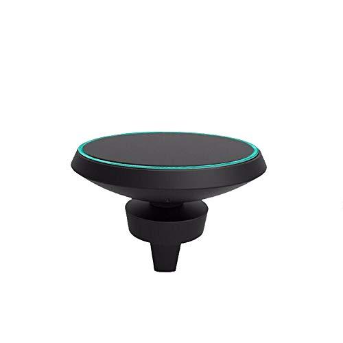 CAOQAO Caricabatteria da Auto con Supporto Ventosa Magnetica per Auto di Moda/Compatibile con Samsung S8 Note 8 iPhone 8 / X e Altri Dispositivi di Ricarica Wireless/Multicolor