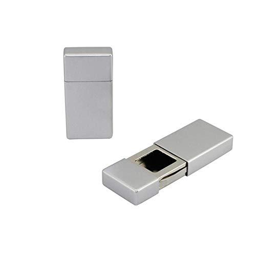 Dice 1pc Aschenbecher Tasche Mini Schublade Typ tragbare Zigarette Aschenbecher Asche Halter für Outdoor-Wandern Camping Reisen