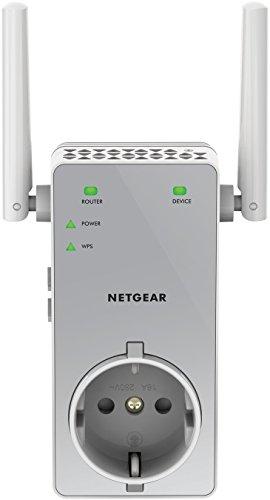 Netgear EX3800-100PES - Extensor de red WiFi AC750 Dual Band (2,4 GHz...