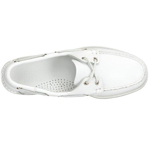 Sebago Docksides Chaussures Bateau Homme Blanc (White)