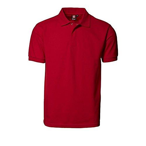 ID HerrenPRO Wear Poloshirt mit Druckknopf Navy