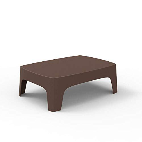 Vondom Solid Table Basse pour l'extérieur Bronze