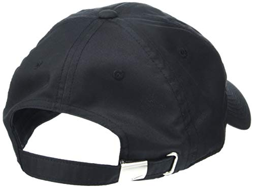 Imagen de nike u nk h86 cap metal swoosh hat, unisex adulto, negro black/metallic silver , talla única alternativa