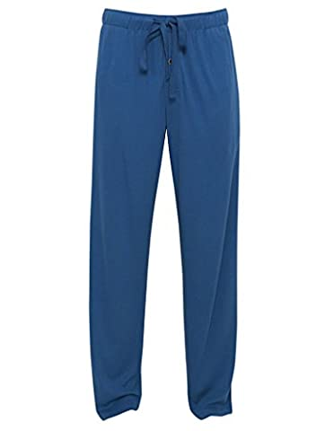 Cyberjammies 6102 Men's Harry Blue Knit Cotton and Modal Pant Pyjama Pajama Pyjama Pant Small