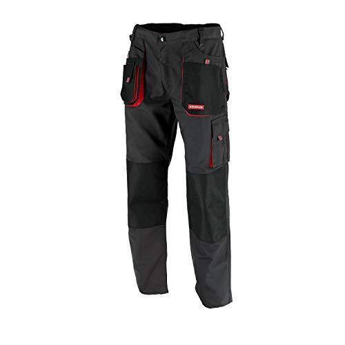Preisvergleich Produktbild KREXUS Herren Arbeitshose Schwarz mit Rot Gr. XXL EX10102XXL