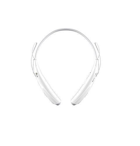 LG Tone Pro HBS-750 Bluetooth Stereo Headset (White)