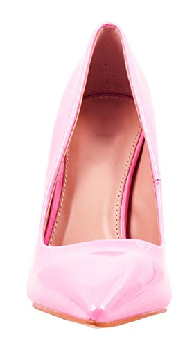 Elara Spitze Pumps | Moderne High Heels | Bequeme Lack Stilettos Coral Paris
