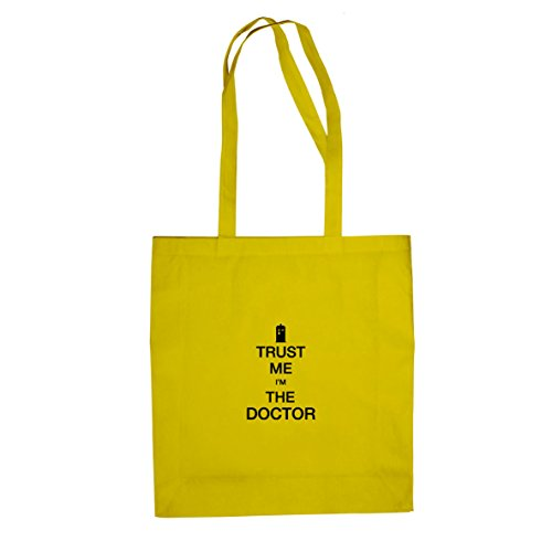 Trust me I'm the Doctor - Stofftasche / Beutel Gelb