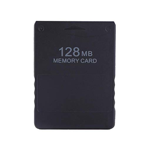 Zerone PS2 Memory Card 8M-256MB High Speed Storage for Sony Playstation 2 Consoles Game Saves and Information (128M)