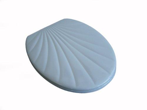 ADOB WC Sitz Klobrille Muschelform Duroplast, manhattangrau, 14850