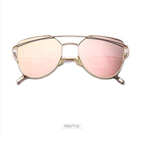 PL-IMK Golden Frame Metal Bar Pilot Sonnenbrille (3)