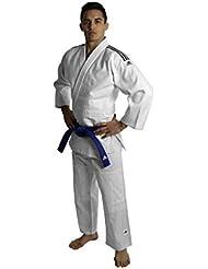 adidas - Kimono de judo entrainement J500 bandes noires (160)