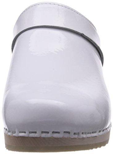 Gevavi  6006 BIGHORN, Sabots femme Bianco (Weiß (weiss(wit Lak) 61))