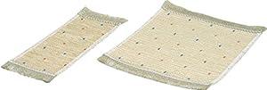 Rülke Holzspielzeug 21527 - Set de 3 alfombras para casa de muñecas