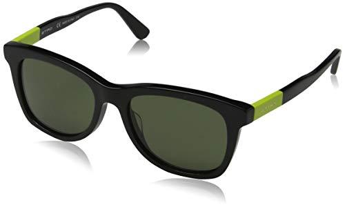 Etro Unisex-Erwachsene ET632S 010 53 Sonnenbrille, Black/Acid Green, - Etro Damen Bekleidung
