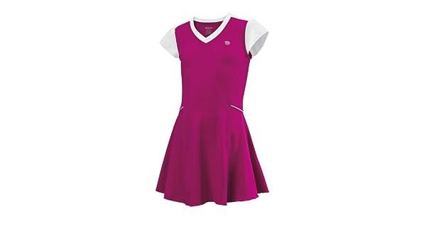 Salomon WILSON sweet success robe robe de tennis pour fille Rose Rose blanc  LG  Amazon.fr  Sports et Loisirs 6222a196abbf