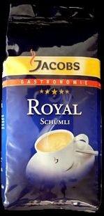 Jacobs Royal Elegant Arabica - Karton 8 x 1kg ganze Bohne