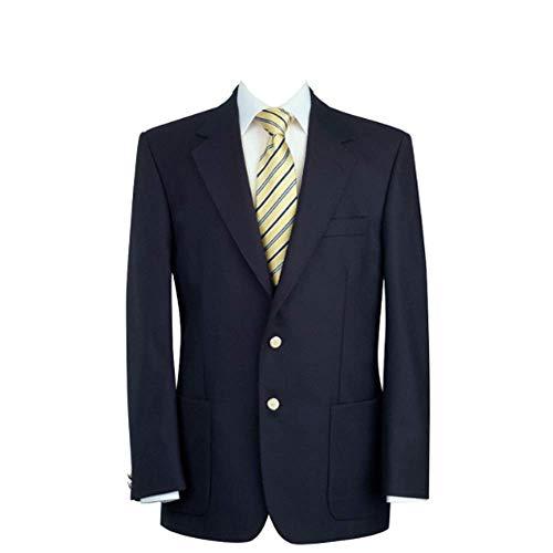 Brook Taverner Oxford Corte Clásico Azul Marino Lana Pura Bolsillo Parche Chaqueta - Azul Marino, 7057A-48L...