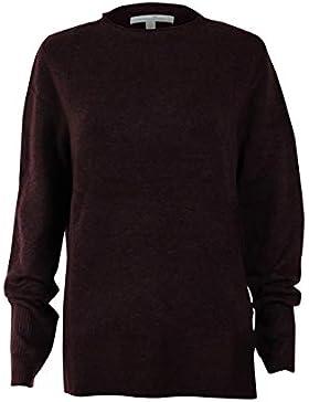 Tom Tailor Denim Basic Pullover Mit Hohem Rundhals, suéter para Mujer