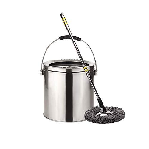 Lamp love Mopp Edelstahl-Wischmop Doppelantrieb Mop Eimer Nassen Und Trockenen Mop Tuch Reinigungsgeräte