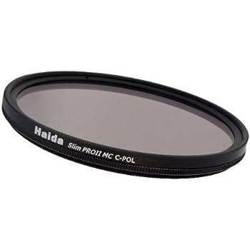 Haida Pro II Digital Slim Polfilter Zirkular MC (multicoating) - 77mm - inkl. Cap mit Innengriff