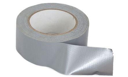 Duck Tape–Silber Gaffa Gaffer Duct Ente Panzertape Tuch Buchbindung Reparatur Craft Tape