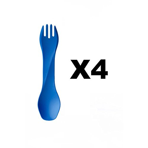 humangear-gobites-uno-utensil-fork-and-spoon-bpa-free-camping-tool-blue-4-pack