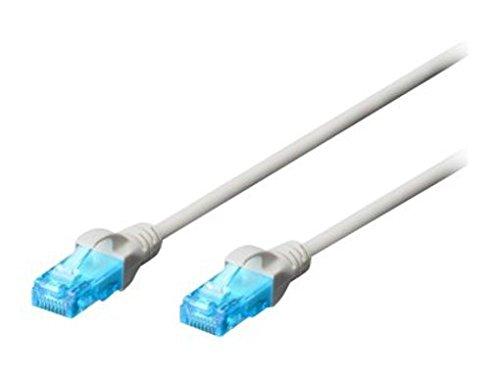 Ewent Cavo di Rete, Patch CAT 5e U/UTP, AWG 26/7, 2 Connettori RJ45, 3m, (Cablaggi Elettrici Connettore)