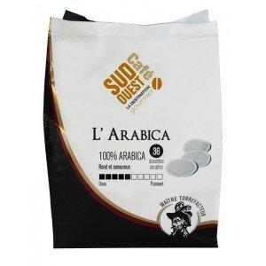 Sudouest Café - Dosettes Souples Senseo L'Arabica - 36X7G