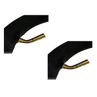 Aero Sport® Set x 2 PRAM 45 Grad Butyl-Schlauch 12 x 1,75/2,125