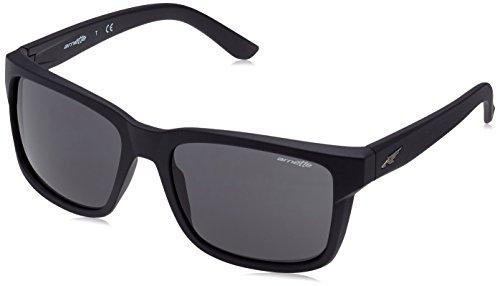 Arnette swindle, occhiali da sole unisex-adulto, matte black 01/87, 57