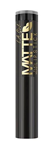 L.A. GIRL Matte Flat Velvet Lipstick - Raven