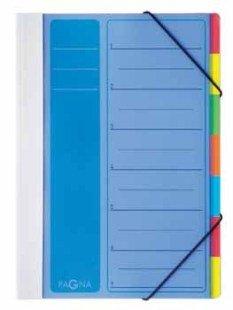 Pagna Ordnungsmappe/44043-02 blau 7-teilig
