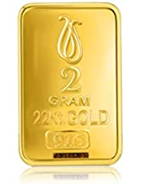 Senco Gold 22k (916) Yellow Gold Bar