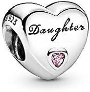 PANDORA Women's Daughter's Love Charm - 925 Sterling Silver, 7