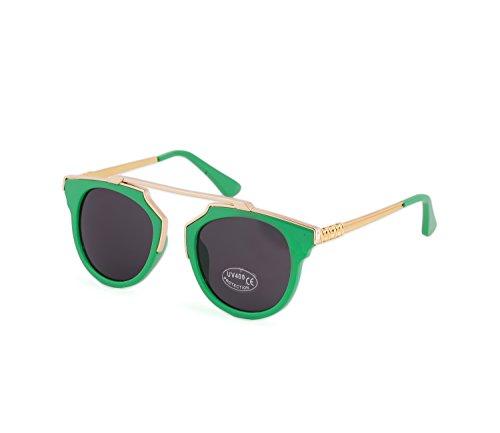 Damen Herren Sonnenbrillen Mode Grune Katze Augen Stil Linse Unisex MFAZ Morefaz Ltd