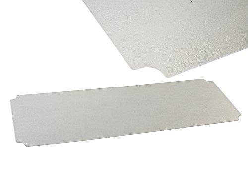 Archimede system piano in policarbonato cm scaffale acciaio