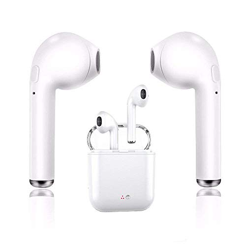I7 Transparente Auricular Bluetooth inalámbrico Mini In-Ear Sports Waterproof para iPhone/iPad / iPod/Android Smartphone