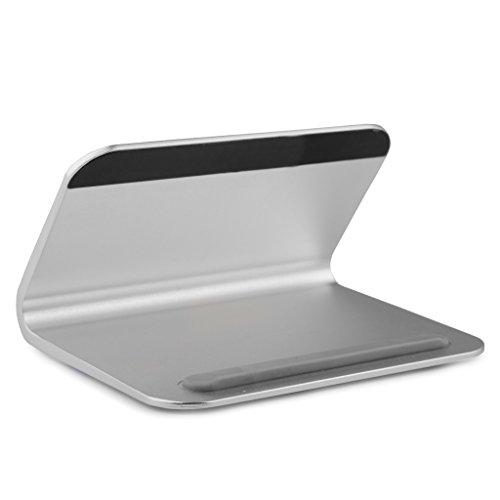 REYTID Premium-solide Aluminium-Legierung-Halter für iPhone, Samsung, HTC, Sony, LG, Huawei und mehr! Smartphone-Stand Desktop-Mount Schlafzimmer Mobile tragbare Aufnahmeschale - Cup Holder Desk Laptop