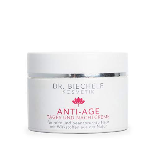 Dr. Biechele Anti-Age Gesichtscreme I 50 ml Feuchtigkeitscreme für trockene bis sehr trockene Haut I Reichhaltige Tagescreme oder Nachtcreme mit Vitamin A, C + E I Kosmetik für reife Haut