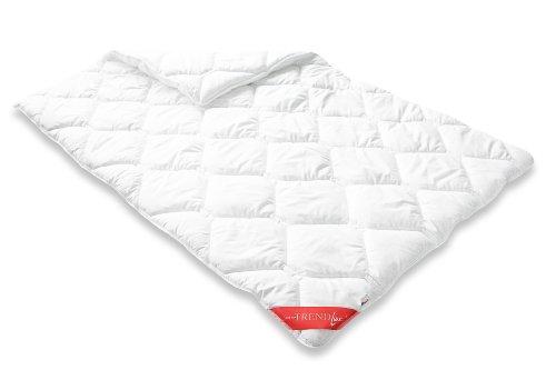 Badenia Bettcomfort Trendline Duo Steppbett Micro Kochfest, 135 x 200 cm, weiß
