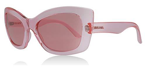 Prada PR19MS 339345 Pink Postcard Cats Eyes Sunglasses Lens Category 1 Size 55mm