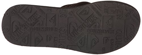 Quiksilver - Tongs - homme Multicolore (Brown)