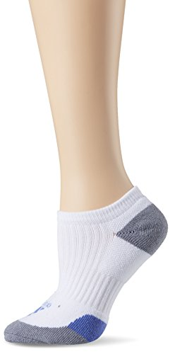 adidas Damen Comfort Low Socken, White/Baja Blue/Grey, 36-39 (Low Socken Comfort)