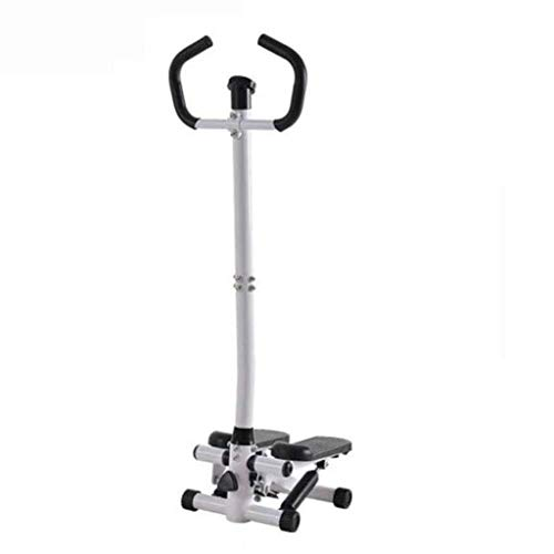 QNJM Health & Fitness Twist Stepper Schrittmaschine Mit Lenker Und LCD-Monitor, Übung Cardio Workout Machine Stair Stepper