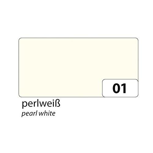 folia 6122/4/01 Tonkarton 220g/m², DIN A4, perlweiß (100 Bogen)