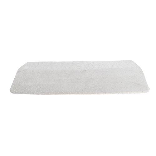 Rückenschmerzen Relief Dreieck Lendenwirbelstütze Keilkissen für Schlafen auf Seite oder zurück, orthopädische Taille Kissen für Ischias, Schwangerschaft, Hip und Gelenkschmerzen - Grau