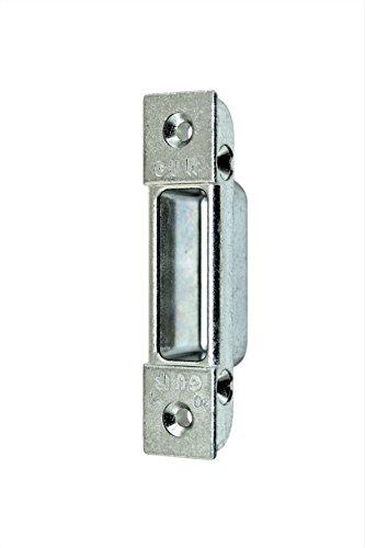 GU Sicherheits Secury Haustür Schließblech Schließgehäuse 85x20x9,5mm mit Riegeltasche zum einfräsen