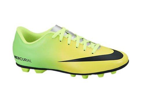 Nike - Mercurial vortex jr fg - Chaussures football moulées Jaune