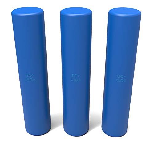 SO-VIDA Sous Vide Gewichte (Packung mit 3 Stück) | Reduziert Ernährungsrisiken | Hält die Beutel unter Wasser | Bessere Leistung vs Sous Vide Gestelle